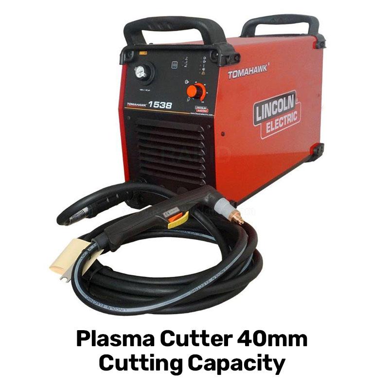 plasma cutter 40mm cutting capasity