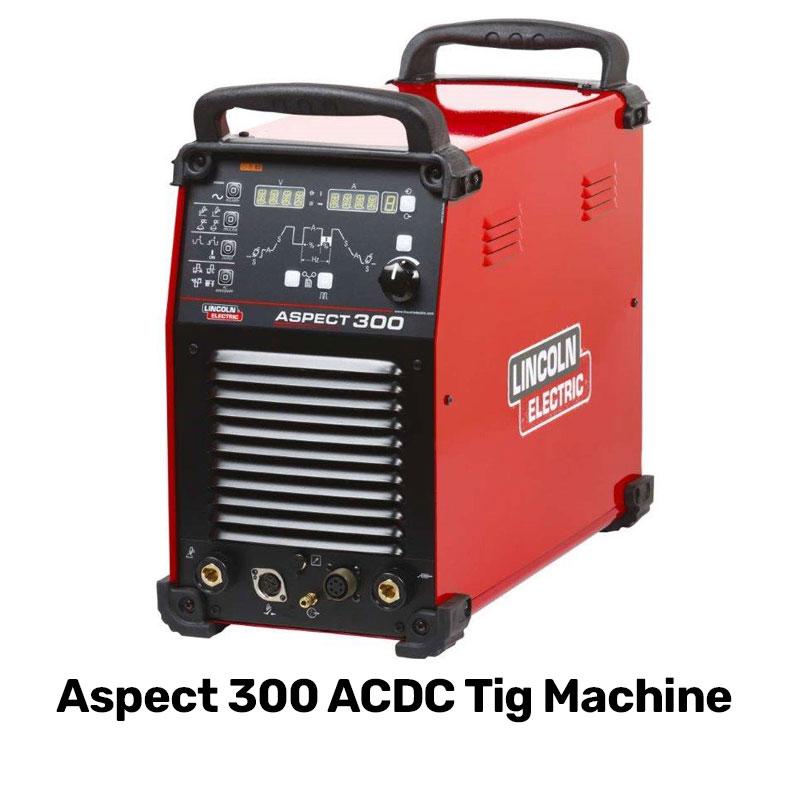 aspect 300 acdc tig machine