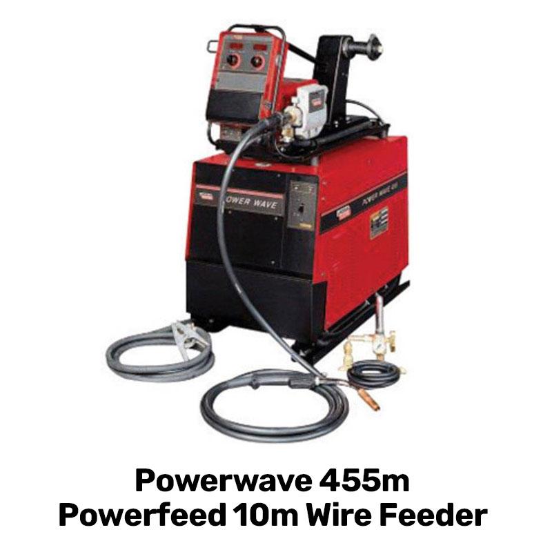 powerwave 455 power feed