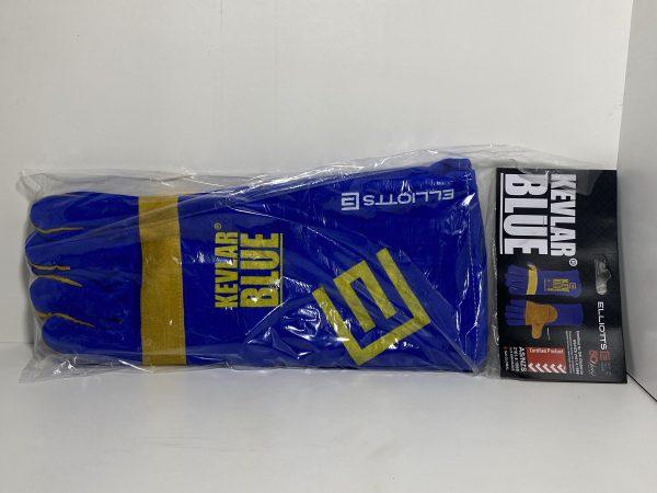 Elliotts kevlar blue welding gloves - Bells Weldgen